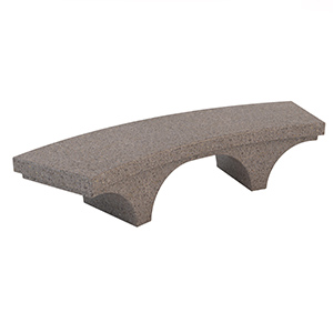 Romana Curved Bench by Bellitalia