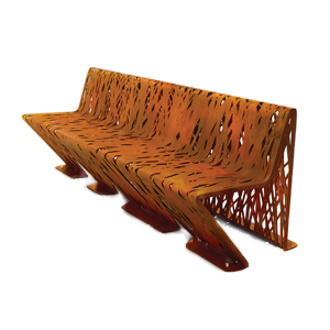 Crossed Bench by Lab23